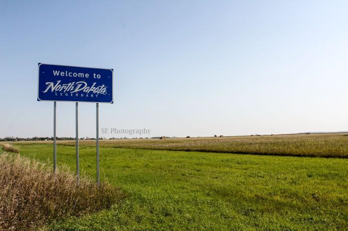North Dakota State Sign - Edited -WM
