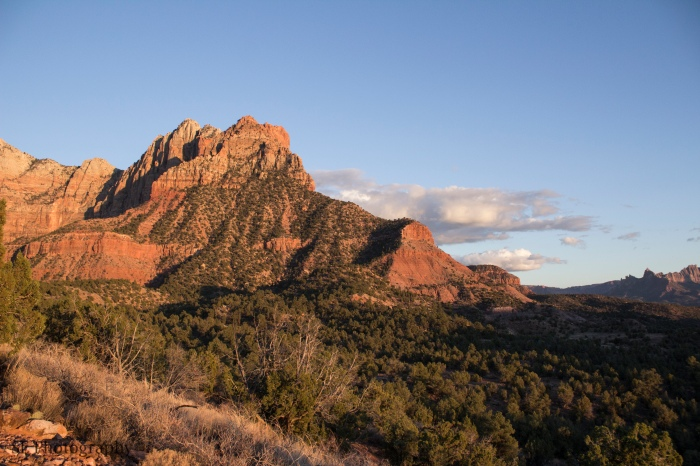 Red Rock Sunset - WM - 3-18