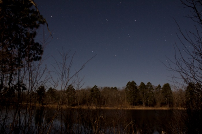 Nighttime Lake - Edited - WM